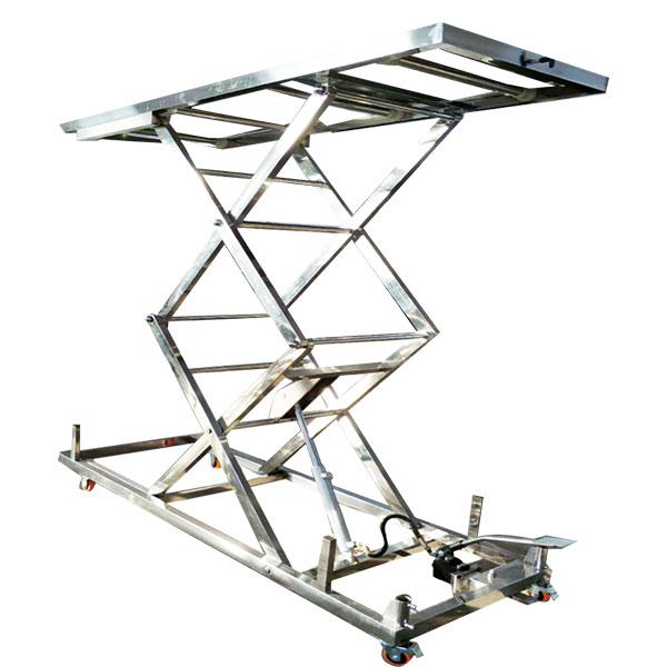 腳踏液壓升降車(雙剪)